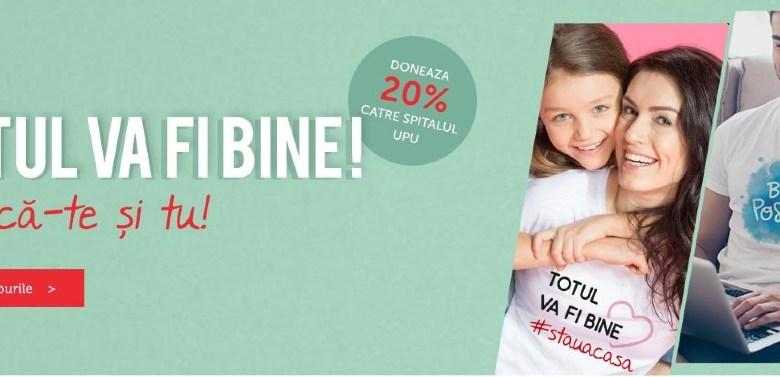 Photo of Tiparo te ajută să trimiți tricouri pozitive celor dragi și donații Spitalului din Cluj