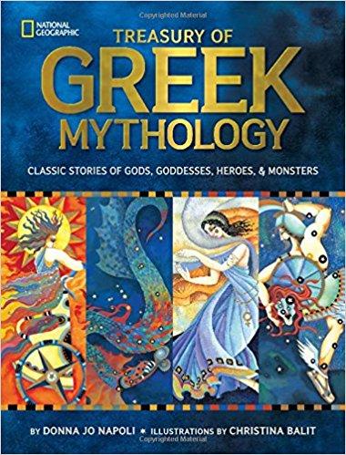 TREASURE OF GREEK MYTHOLOGY - best greek mythology books