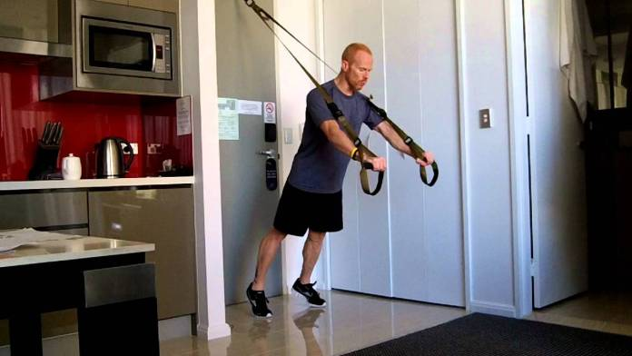 trx straps office training