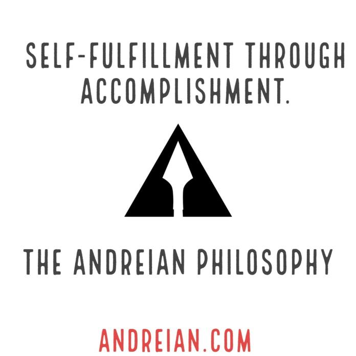 self fulfillment through accomplishment with website