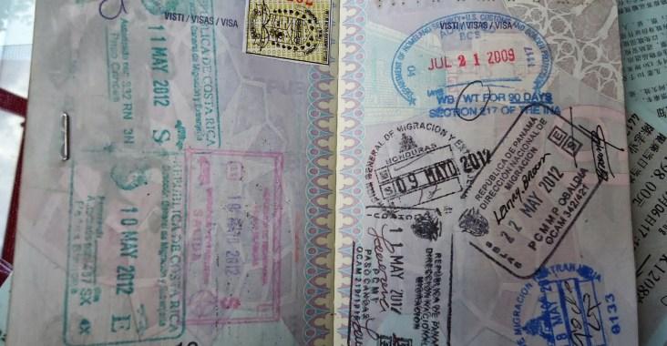 pagina passaporto