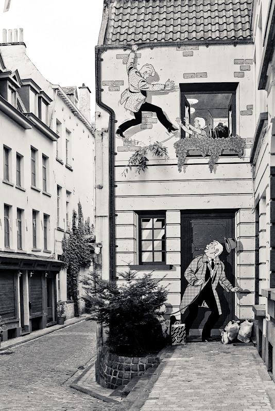 Bruxelles in black & white