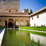 small pond in the Alhambra complex