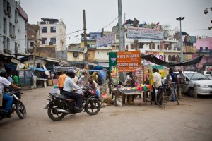 typical Indian market
