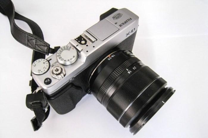 Fujifilm X-E1 with Fujinon XF 18-55mm