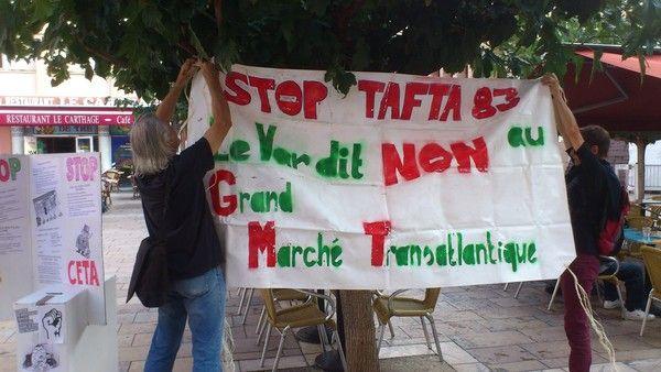 STOP au TAFTA, CETA, TISA