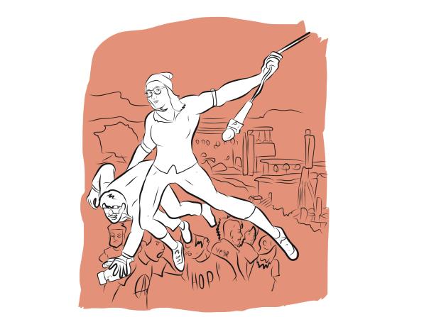 Illustration pour un projet interne au boulot...
