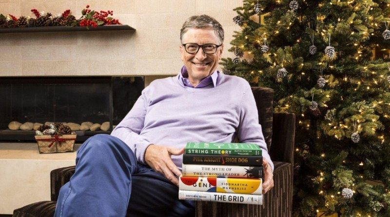 Bill Gates recomenda os 5 livros de 2016