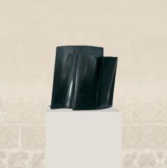 Inséparables, 2007, granit d'Inde, 59 x 52 x 22 cm