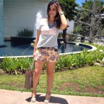 look animale shorts