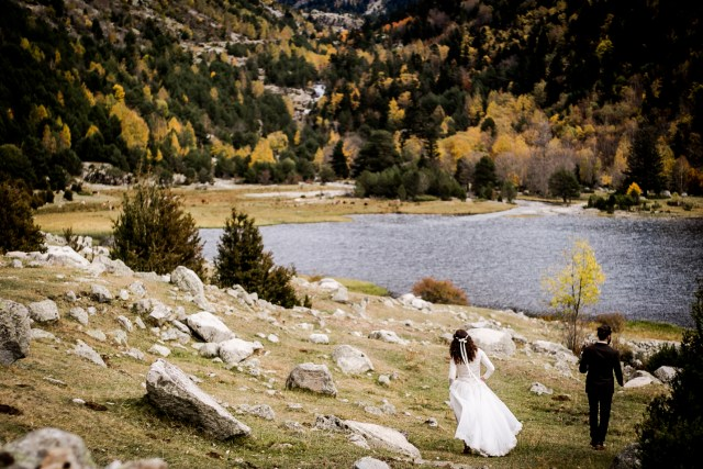 autumn elopement