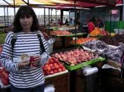 Mercat de fruita al Pierre 39. San Francisco. EEUU