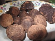 Xocolata 100% cacao. Xocolat 100% cocoa