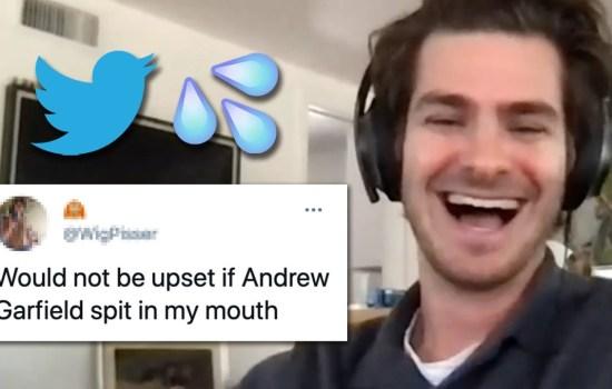 Andrew Garfield Reads Thirst Tweets
