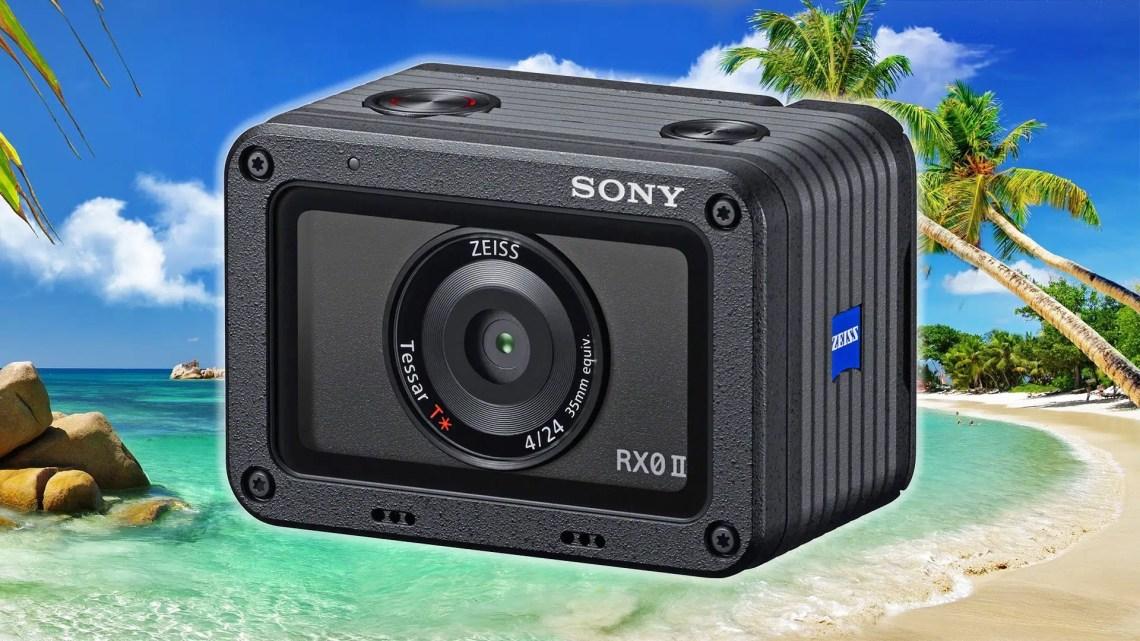 Экшн-камера Sony RX0 II - обложка статьи