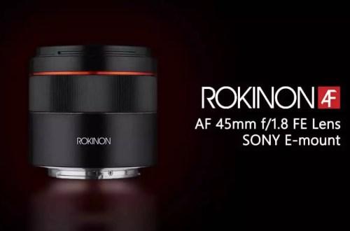 Объектив Rokinon AF 45mm f/1.8 FE для Sony E - обложка статьи