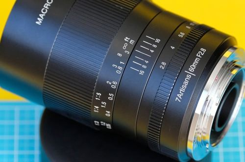 Объектив 7Artisans 60mm F2.8 macro - обложка статьи