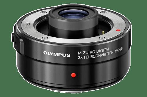 Olympus 2x телеконвертер MC-20 - обложка статьи