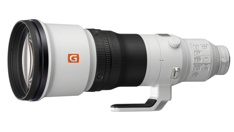 Объектив Sony FE 600mm F4 GM OSS - вид сбоку