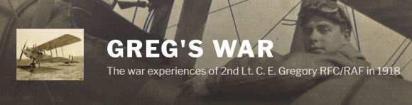 Greg's War logo