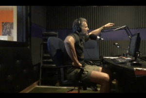 Radio Studio Shot