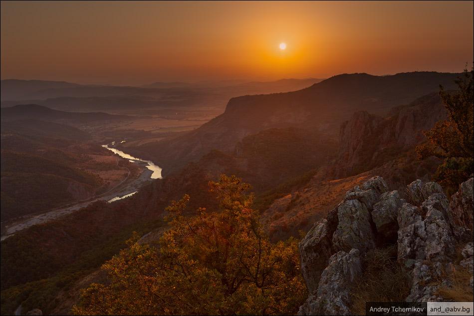 Sunset. Madzharovo.