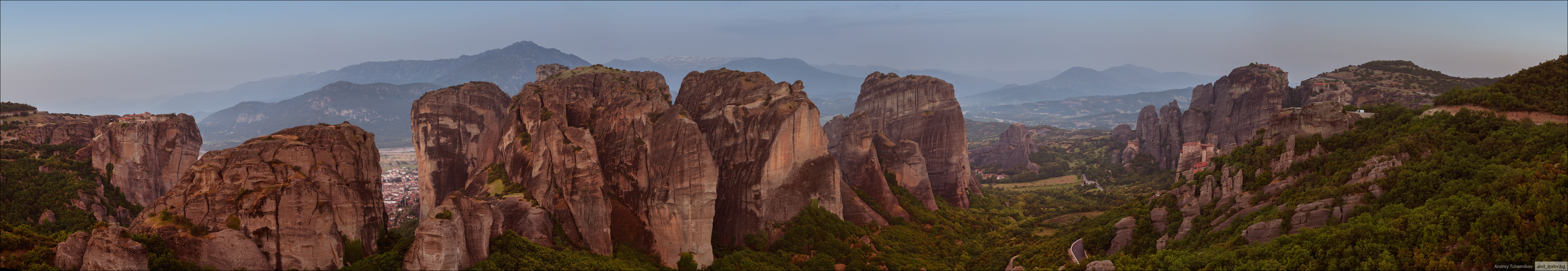 Greece. Meteora. Panorama.