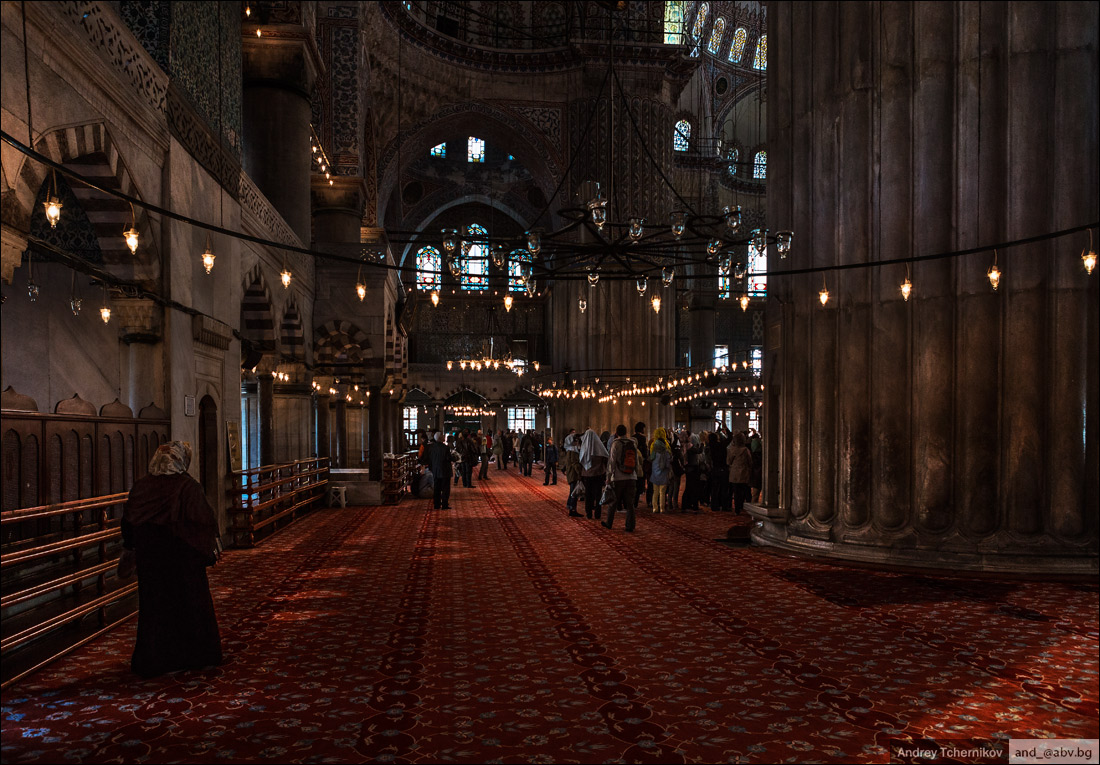 Turkey. Istanbul. Sultan Ahmed Mosque 3