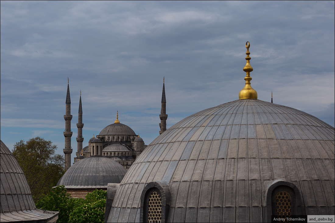 Turkey. Istanbul. Sultan Ahmed Mosque.