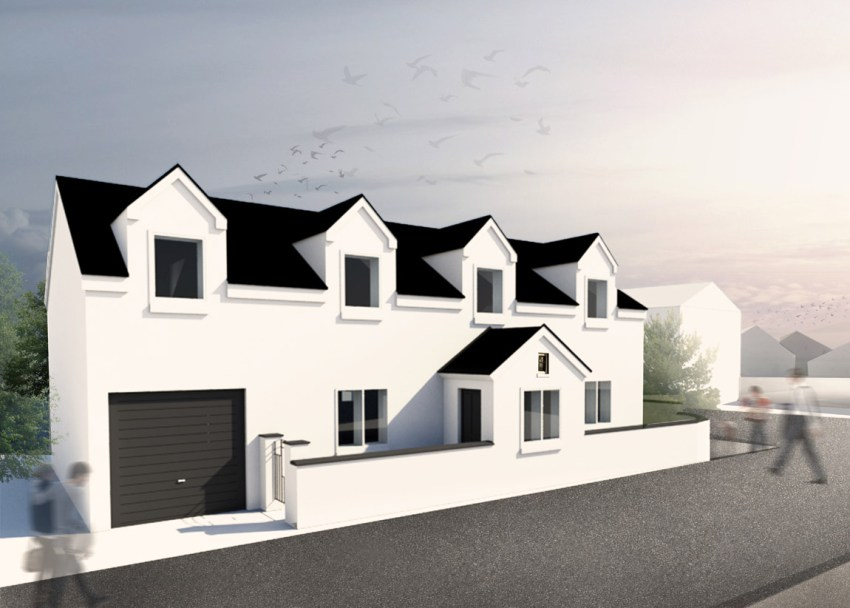 artists impression of first floor extension project