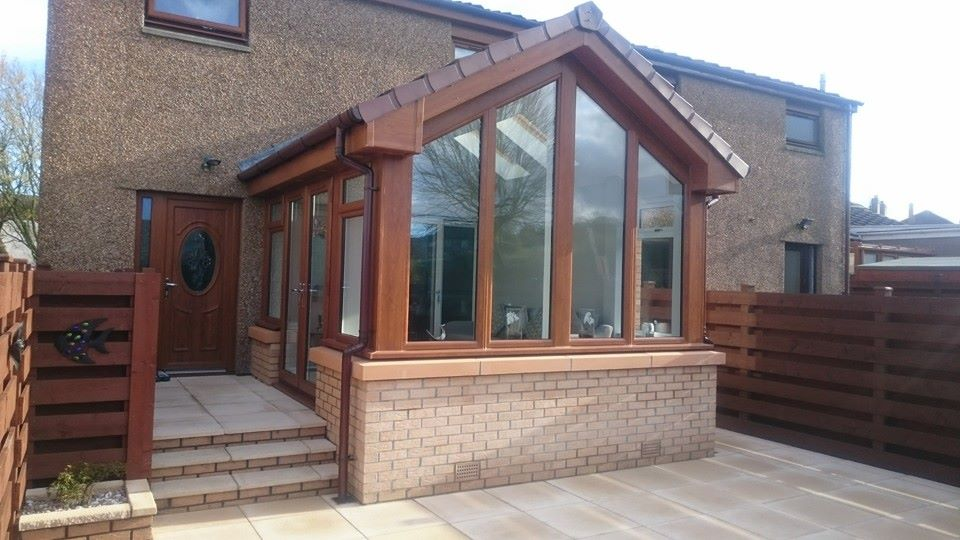 bespoke design oak framed extension