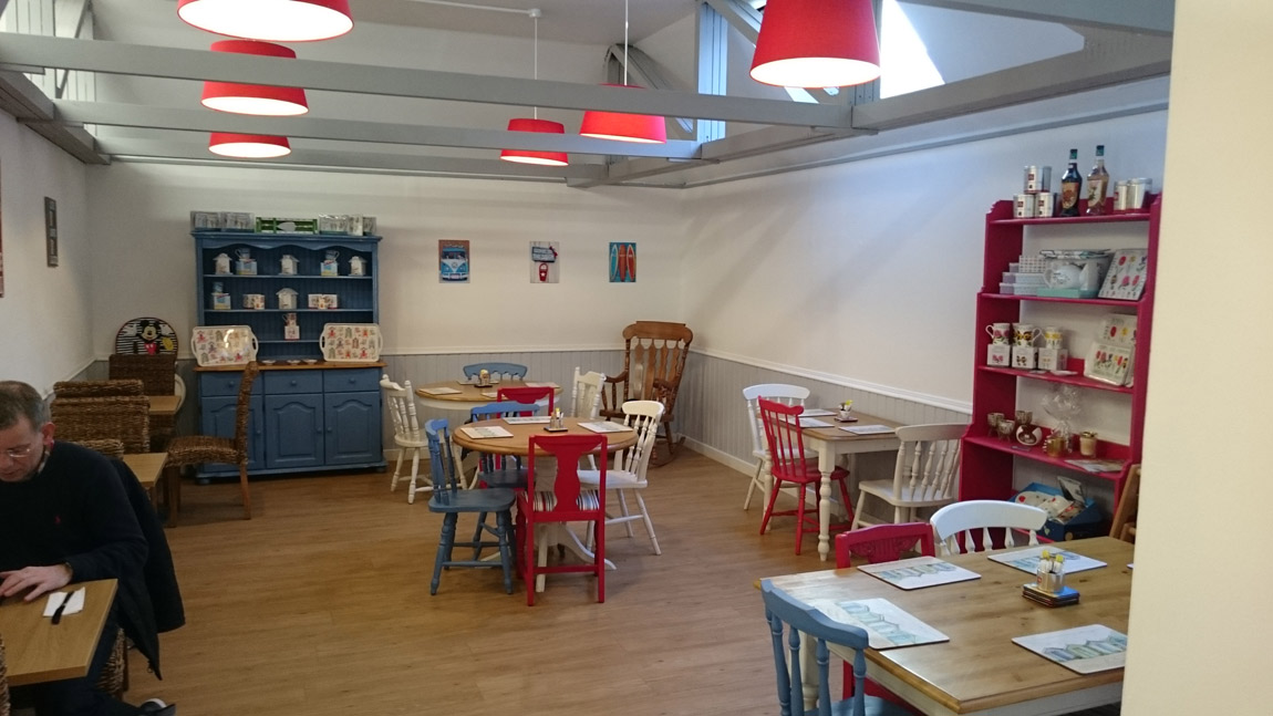 conversion of book shop to award winning cafe (4)
