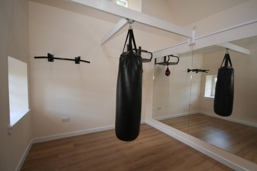 conversion of outbuildings to gym (3)
