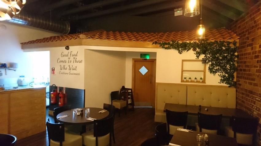 conversion of retail unit to award winning italian restaurant (6)
