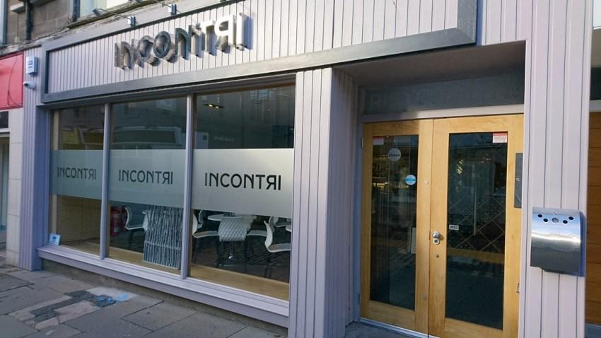 conversion of retail unit to award winning italian restaurant (9)
