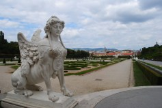 Neverending Story chica at the Belvedere