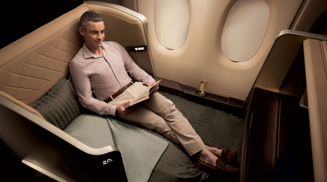 Is your business in economy or business class?
