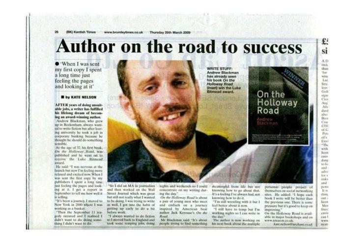 Kentish Times article
