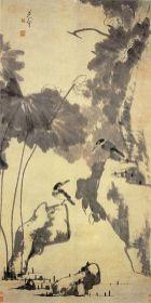 300px-Lotus_and_Birds_by_Zhu_Da