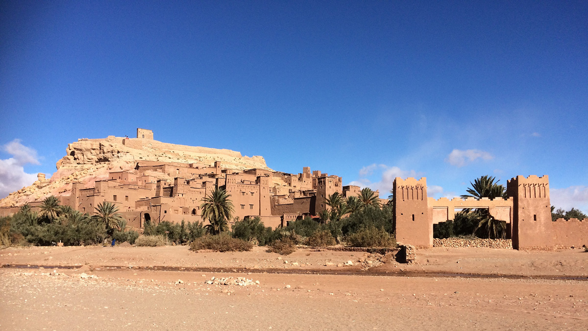The fortified village of Ait Benhaddou