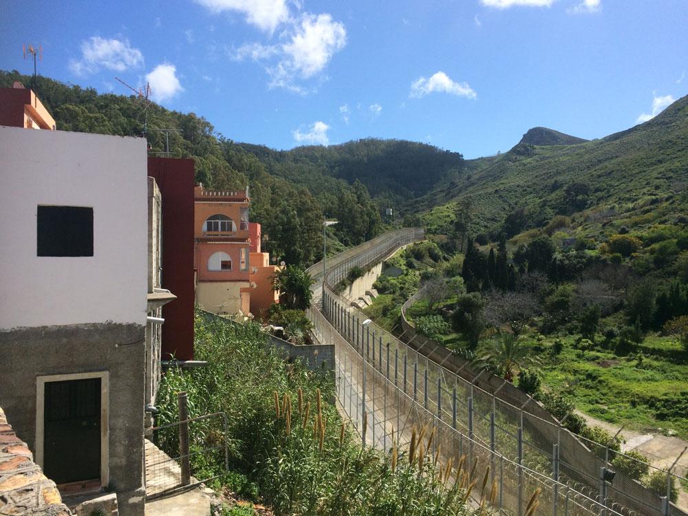 Ceuta wall