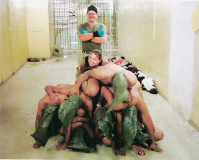 Abu Ghraib prisoner abuse photo