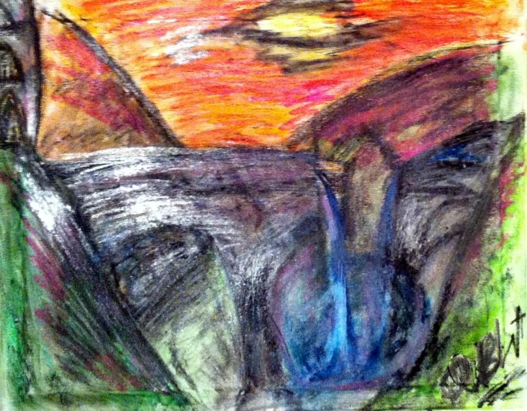 """The Fallen Aqueduct at Verci"""