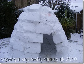 Igloo - LINK TO PHOTO GALLERY