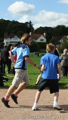 relay race, fundrun, Andrew Burdett, Josh Rollett