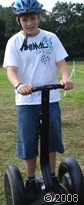 SEGWAY 2008_My 12-year-old self on a SEGWAY in Legoland in 2008.