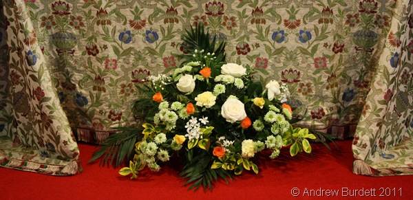 EASTER FLOWERS_A floral display at St Luke's.