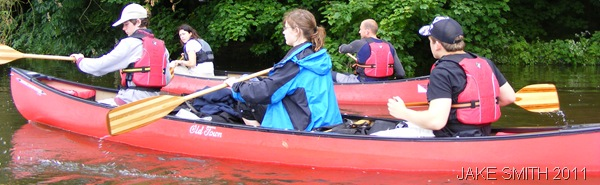 ROW YOUR BOAT_Huw Whitworth, Matilda Rose, and Andrew Burdett paddle down the Thames.