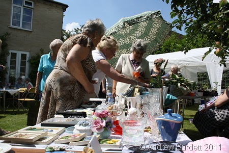 BUY THIS BRIC-A-BRAC_Punters take a closer look at what's on offer.