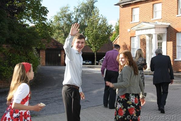 GOODBYE_Joe and Jess Turnbull leave Norden Farm.